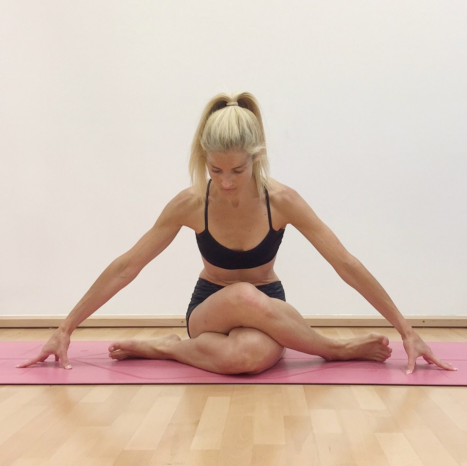 Shoe Lace yoga pose