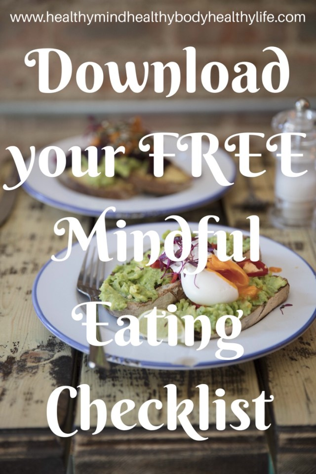 Download your mindful eating checklist