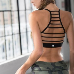 Tackle your toughest workouts in the Jala Tantra Bra. This bra top boasts a higher cut neckline, strappy design in back, and a high compression fit