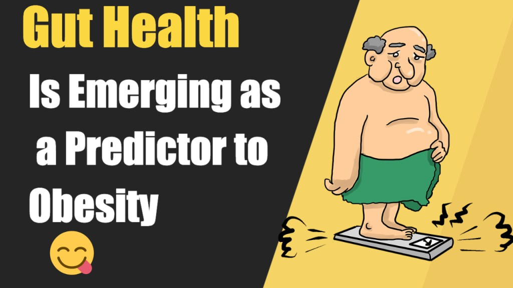 Gut Health Is Emerging as a Predictor to Obesity