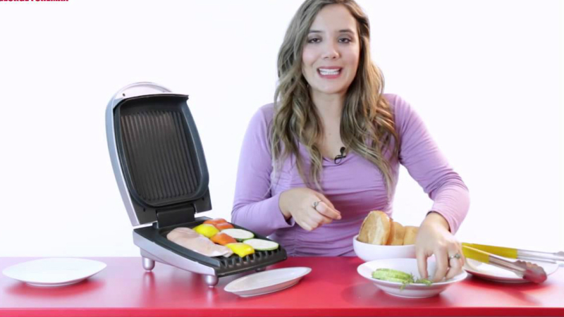 Use a George Foreman Grill in your Kitchen