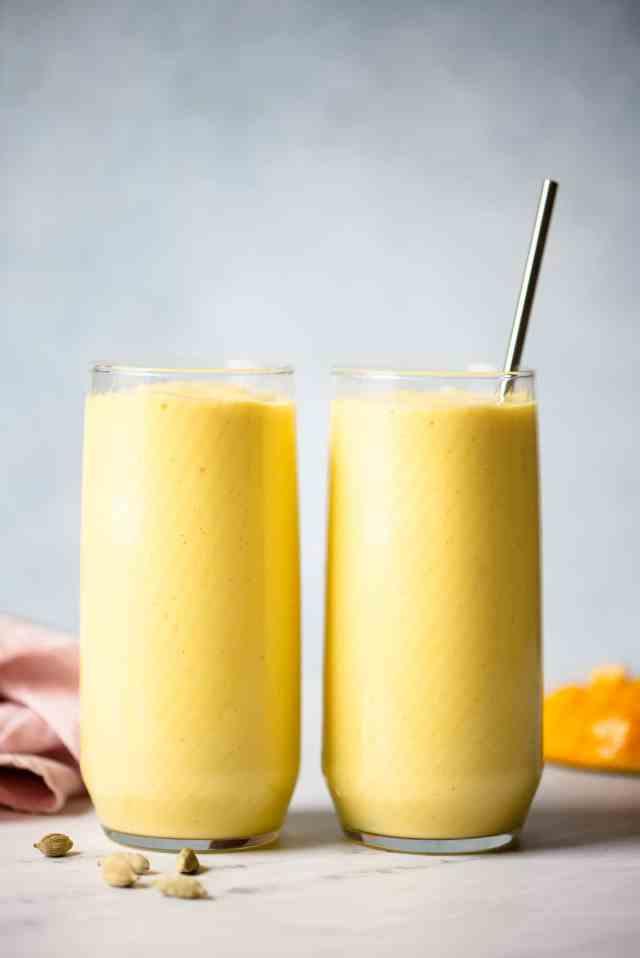 Simple Mango Lassi Recipe  Healthy Nibbles by Lisa Lin