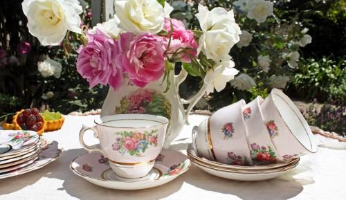 5.Have A Tea Party