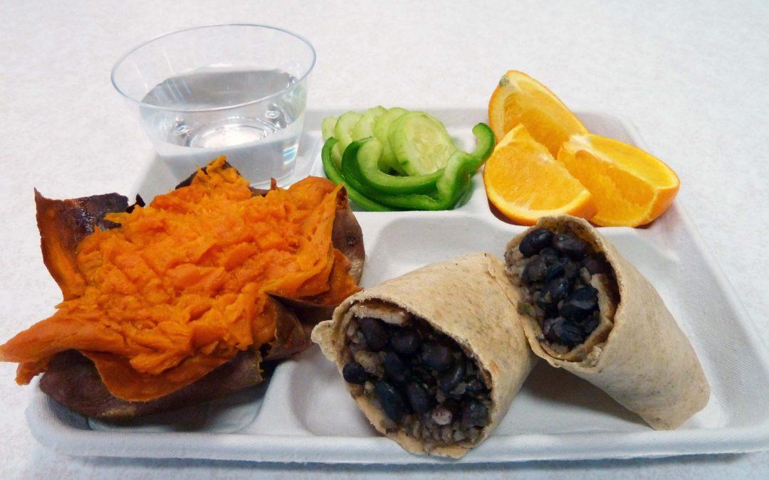 Roy's Cuban Wraps bean burrito - all plant-based