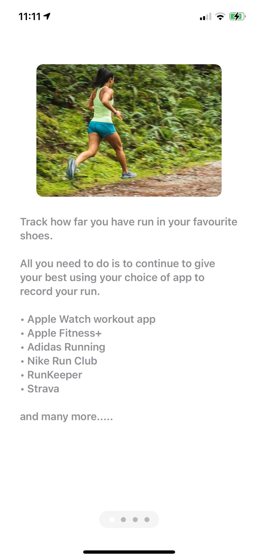 All you need to do is continue to give your best using your choice of app to record your run