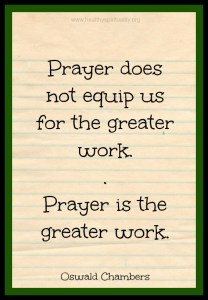 A Collection of Prayers and Quotes about Prayer