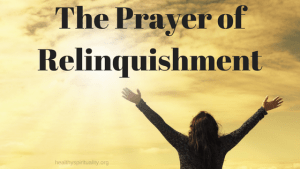 Prayer of Relinquishment