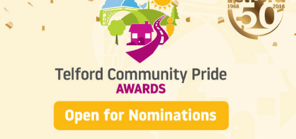 Telford Community Pride Awards 2018