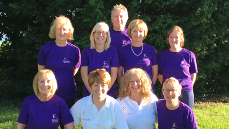 The Let's Get Telford Active Kickstart Team