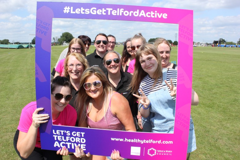 Allscott Health in Let's Get Telford Active