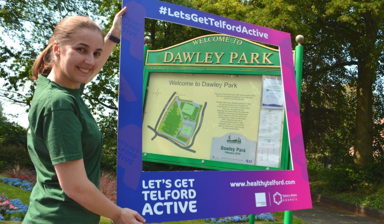 Dawley Park in Let's Get Telford Active