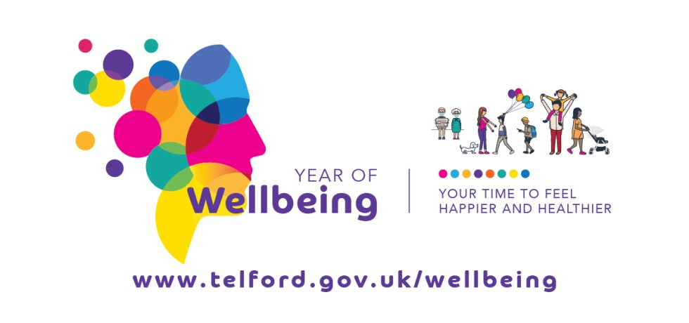 Telford and Wekin's Year of Wellbeing