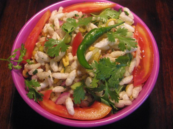 healthy bhel recipe