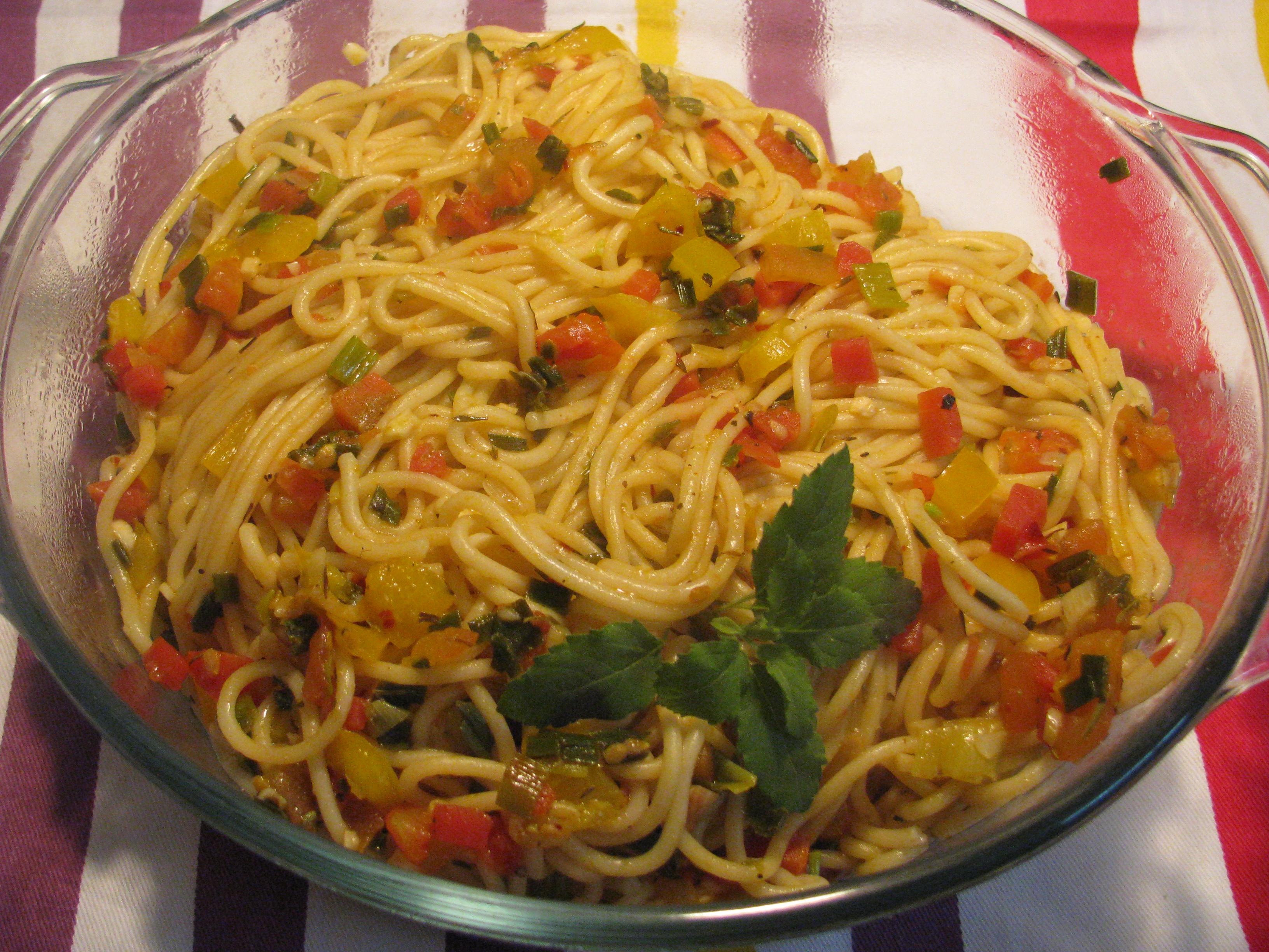 Vegan Spaghetti Pasta Recipe