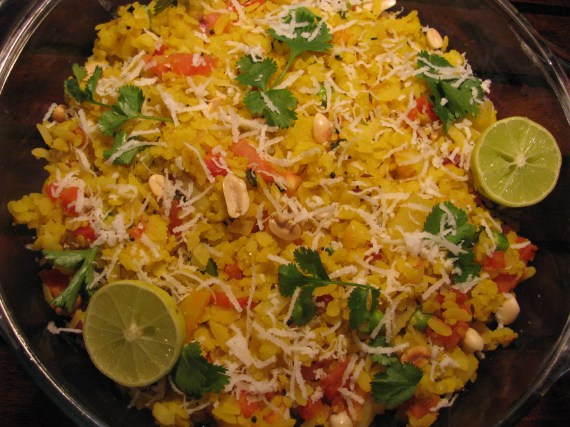 healthy poha recipe
