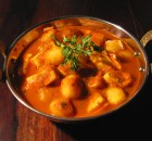 Small Potato Paneer Curry