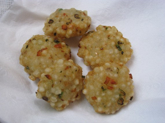 sabudana tikki in hindi
