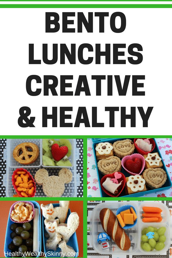 Bento Lunches Creative & Healthy
