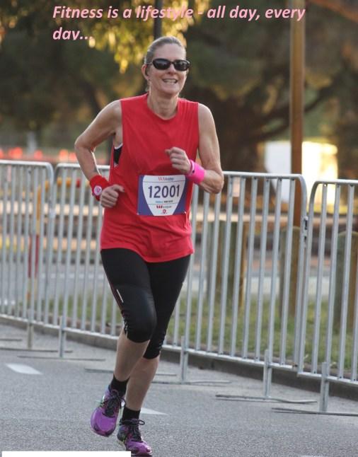 Shirley running