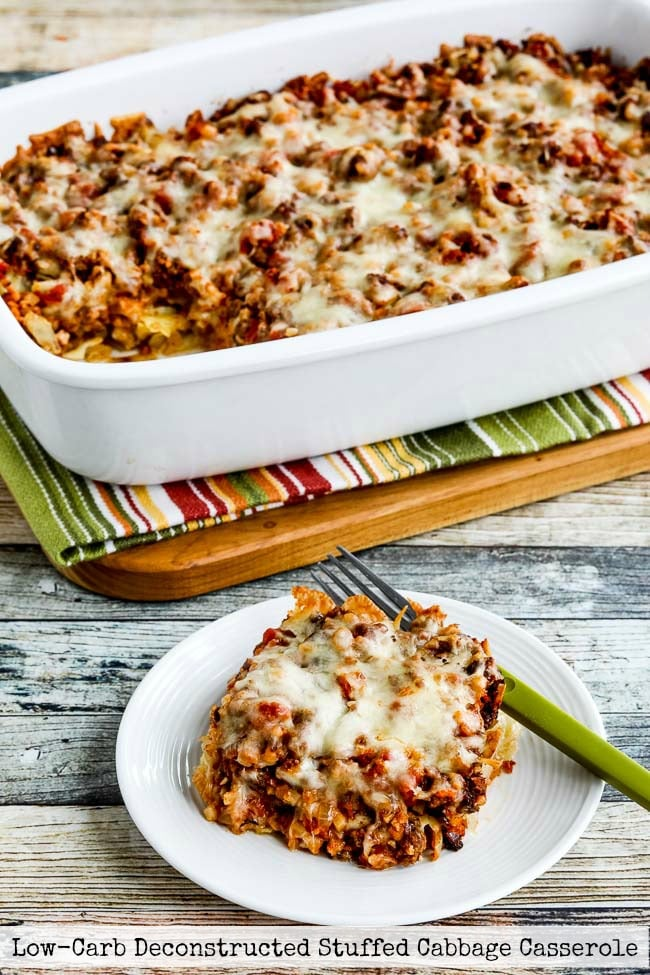 Low-Carb Deconstructed Stuffed Cabbage Casserole