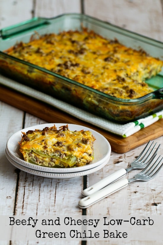 20+ Deliciously Healthy Low-Carb Casserole Recipes found on KalynsKitchen.com