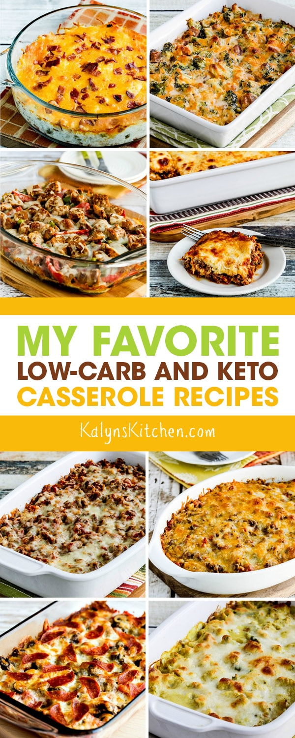 Pinterest image of My Favorite Low-Carb and Keto Casserole Recipes