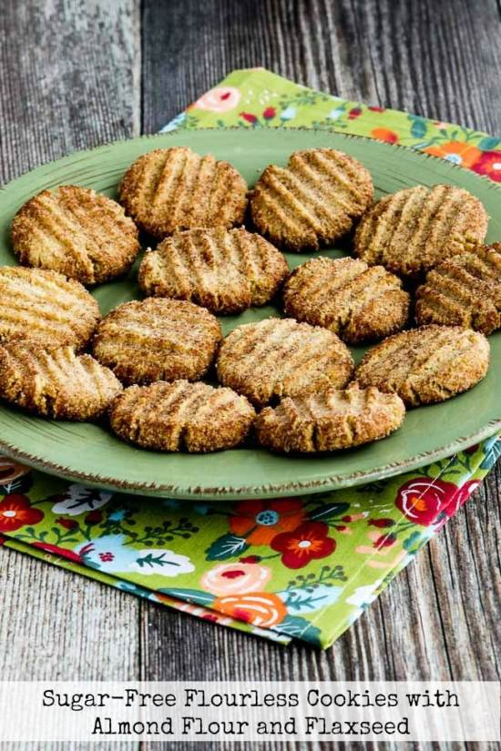 Sugar-Free Flourless Cookies with Almond Flour and Flaxseed title photo