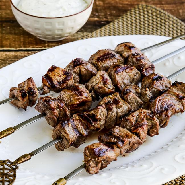 Greek Lamb Souvlaki (or Souvlakia)