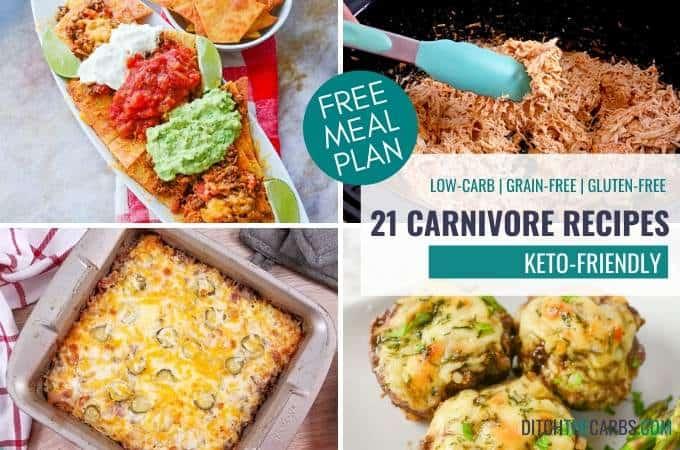 21 Keto-Friendly Carnivore Recipes + f.r.e.e. meal plan
