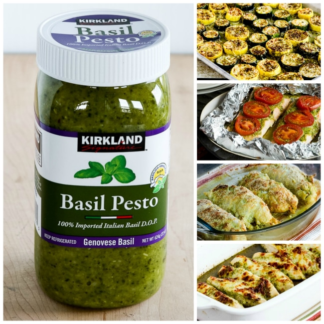 Top Photo for Kirkland Basil Pesto and Recipe Ideas Using Basil Pesto
