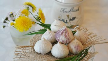 raw garlic in empty stomach
