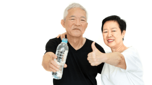 japanese people: Morning Water Therapy : Drinking Water On Empty Stomach