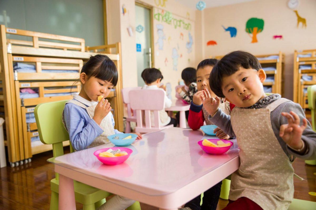 Five food groups – Healthy food for school age kids