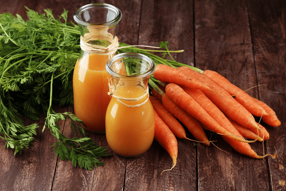 Carrot Juice For Wrinkles