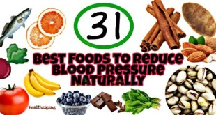 best foods to reduce blood pressure