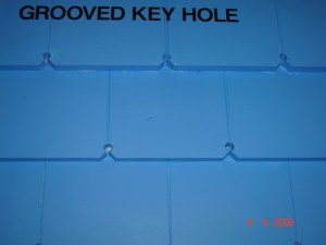 Keyhole Weatherboard with groove
