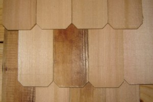 Notched End Shingles