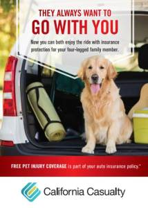 California Casualty Pet Injury Coverage