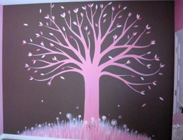 2010 - Pink Tree Mural 2