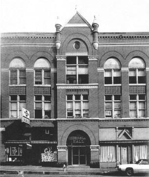 Hibernian Hall B&W