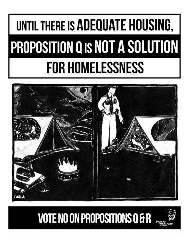 "Poster Syndicate ""Adequate Housing"" Screenprint 2016"