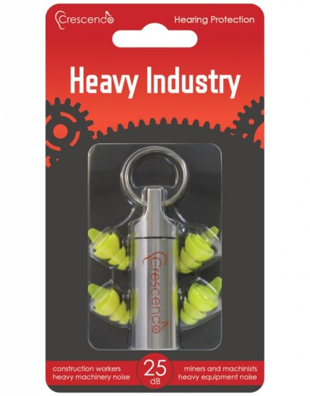 heavy industry reusable hearing protection