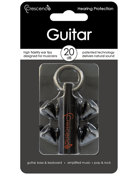 Crescendo Guitar Silicon Ear Plugs