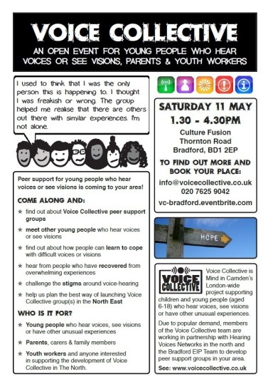 Voice Collective North East Open Event