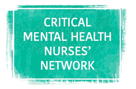 Critical Mental Health Nurses Event logo