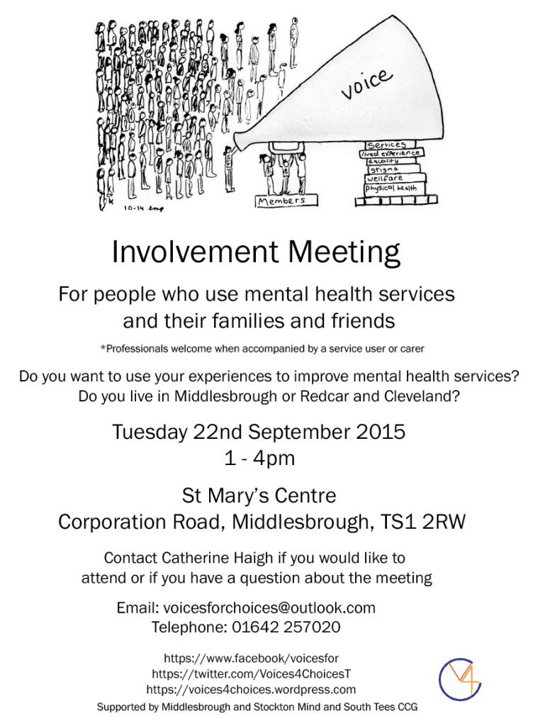 es Involvement meeting flyer