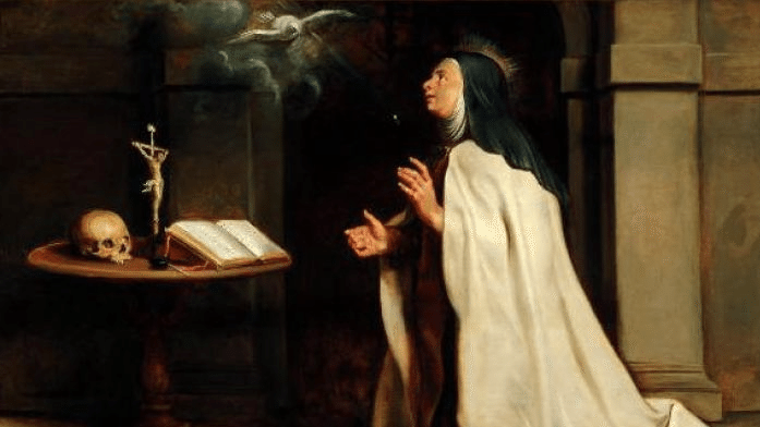 Peter Paul Ruben's: St Teresa of Avila's Vision of the Dove