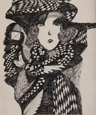 Madge Gill Spiritualist artwork