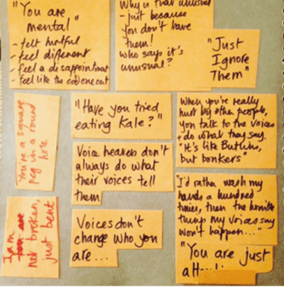 Notes from Listen Up