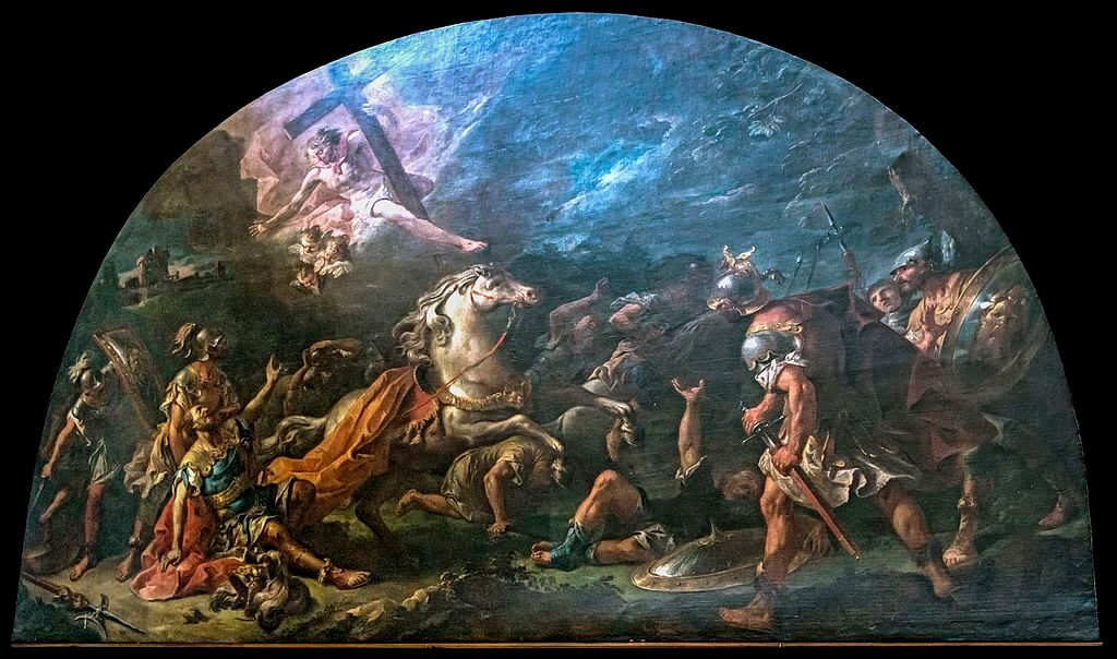 Santa_Giustina_(Padua)_-_Conversion_of_St._Paul_by_Gaspare_Diziani